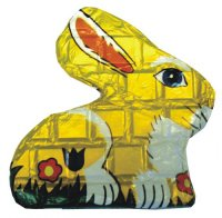 Chocolate Bar Bunny 60g