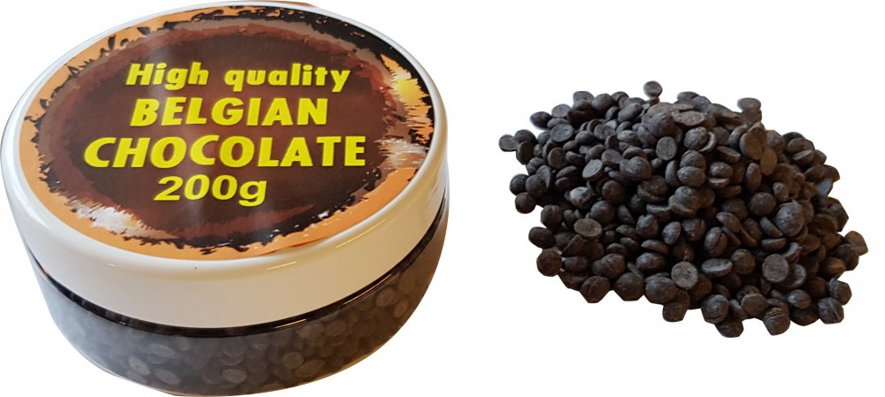 Thermostable dark chocolate 200g in dose