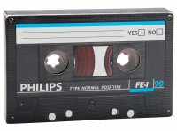Audiokazeta 40g - Philips