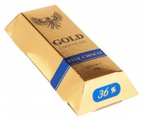Brick 30g - Gold chocolate