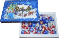Christmas hollow figures in a box 500g