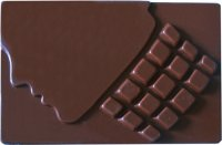 Chocolate with Engraved Woman 200g