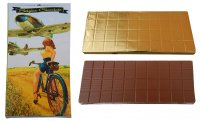Chocolate 450g - Woman on the bicycle