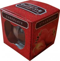 Chocolate fruit with fruit flavor 150g