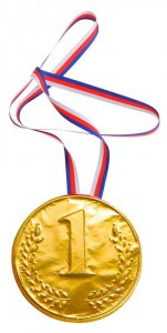Medal 40g - 1. place
