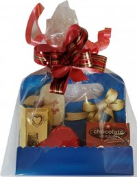 Gift package 111g - condoms 20g, mouth 15g, heart 24g, brick 30g, lollipop 22g