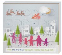 Smaller advent calendar 40g