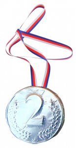 Medal 40g - 2. place