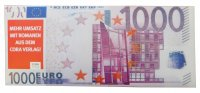 Banknote 60g - 1,000 Euro - advertisement