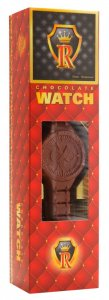 Chocolate watch 65g - Red