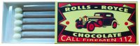Matches 60g - Rolls Royce