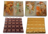 Chocolate Bar 100g - Alfons Mucha