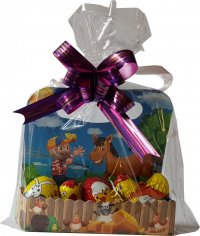 Gift package 75g - hen 20g, 2x egg 20g, chicken 15g