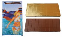 Chocolate 450g - Woman in a water
