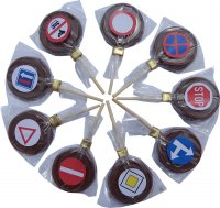 Lollipop 11g - Traffic signs