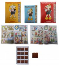 Chocolate Library 60g - Comics Hurvínek - 2 volumes