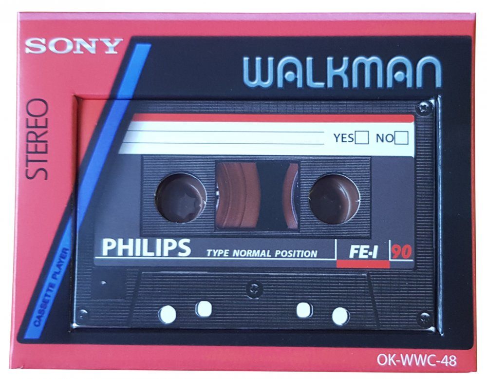 Walkman with compact Cassette 40g