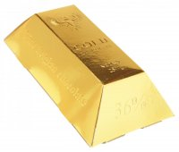 Brick 250g - Gold chocolate