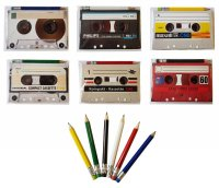 Compact Cassette 40g with pencil