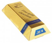 Brick 30g - Fine gold chocolate