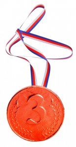 Medal 40g - 3. place