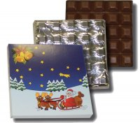 Chocolate Bar 100g - Santa Claus
