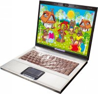 Easter notebook with chocolate keyboard 200g