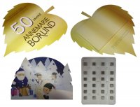 Advent Calendar A4 50g - Special Shape