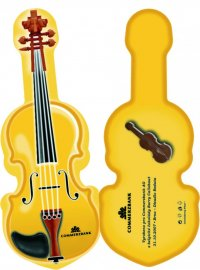 Violin 200g - Advertising