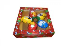 Easter eggs set - 5x30g, (150g)