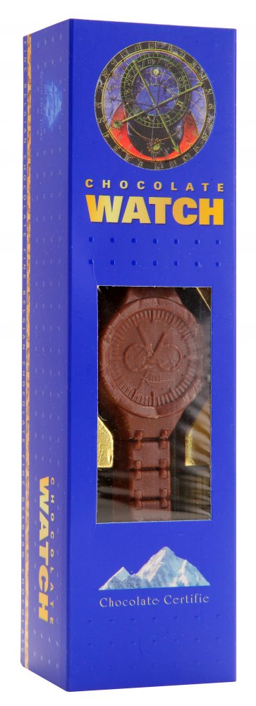 Chocolate watch 65g - Blue