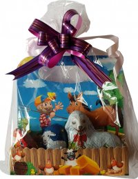 Gift package 90g - lamb 50g, egg 20g, hen 20g